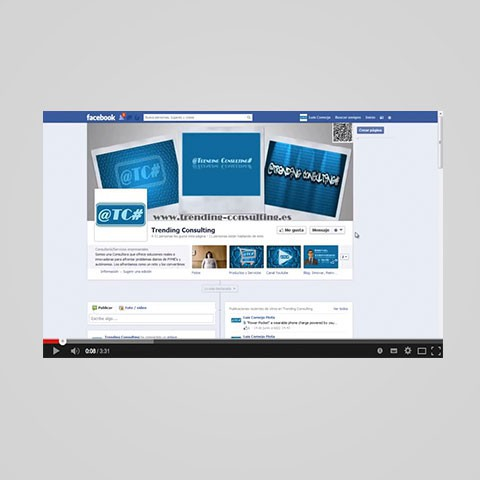 Videotutorial Facebook